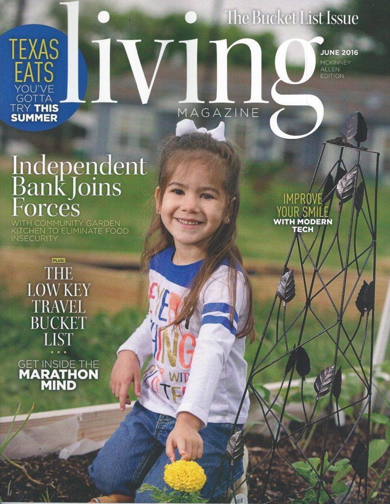 Cover of McKinney Living Magazine
