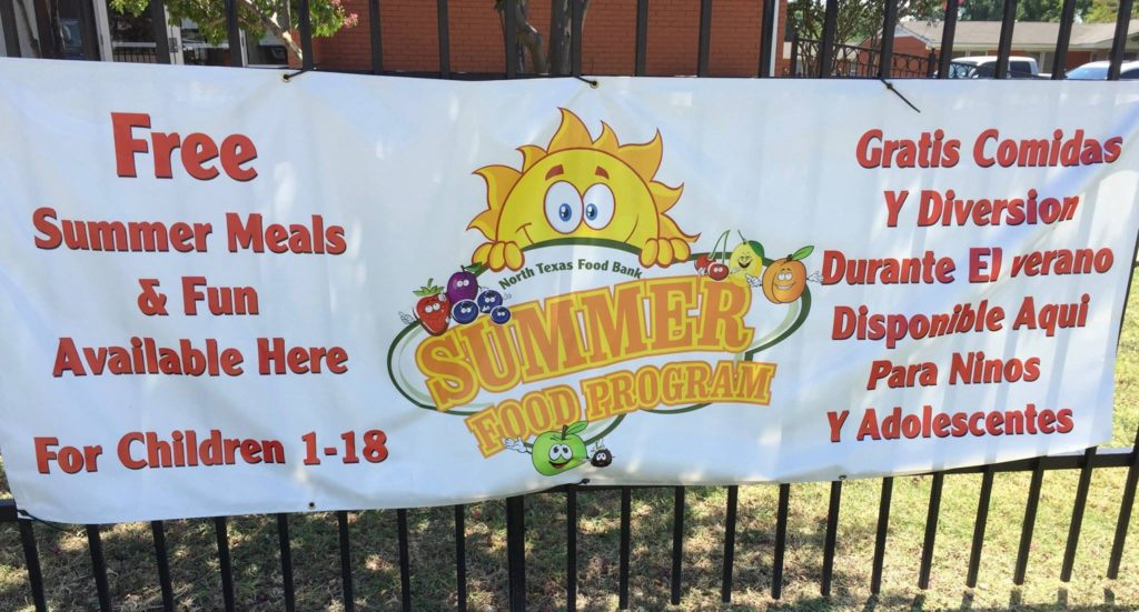 Kids Cafe Banner