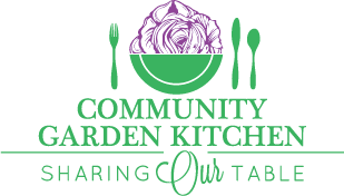 Community Garden Kitchen Logo
