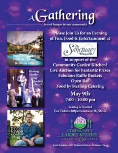 A Gathering to End Hunger: May 9