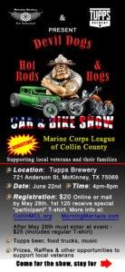 Devil Dogs, Hot Rods & Hogs June 22nd