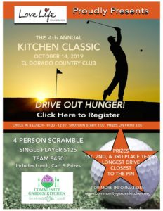 Thanks for Supporting the 4th Annual Community Garden Kitchen Classic