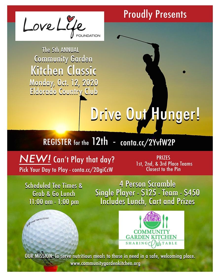 Registration Open for Kitchen Classic Golf Tournament Oct. 12, 2020